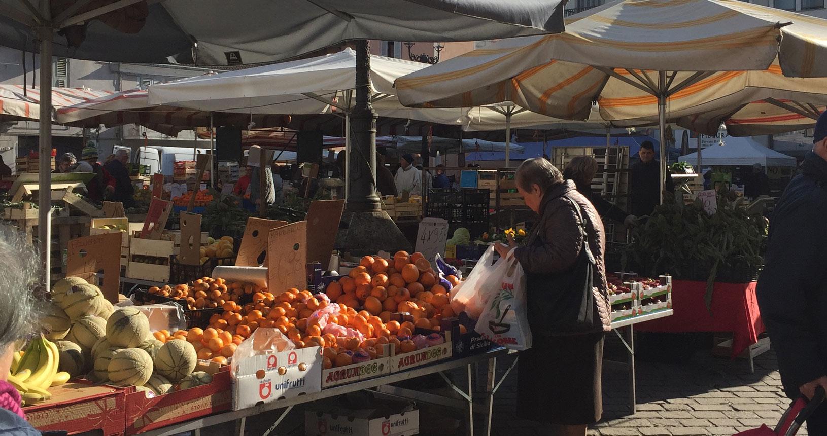 Piemont Urlaub Märkte entdecken