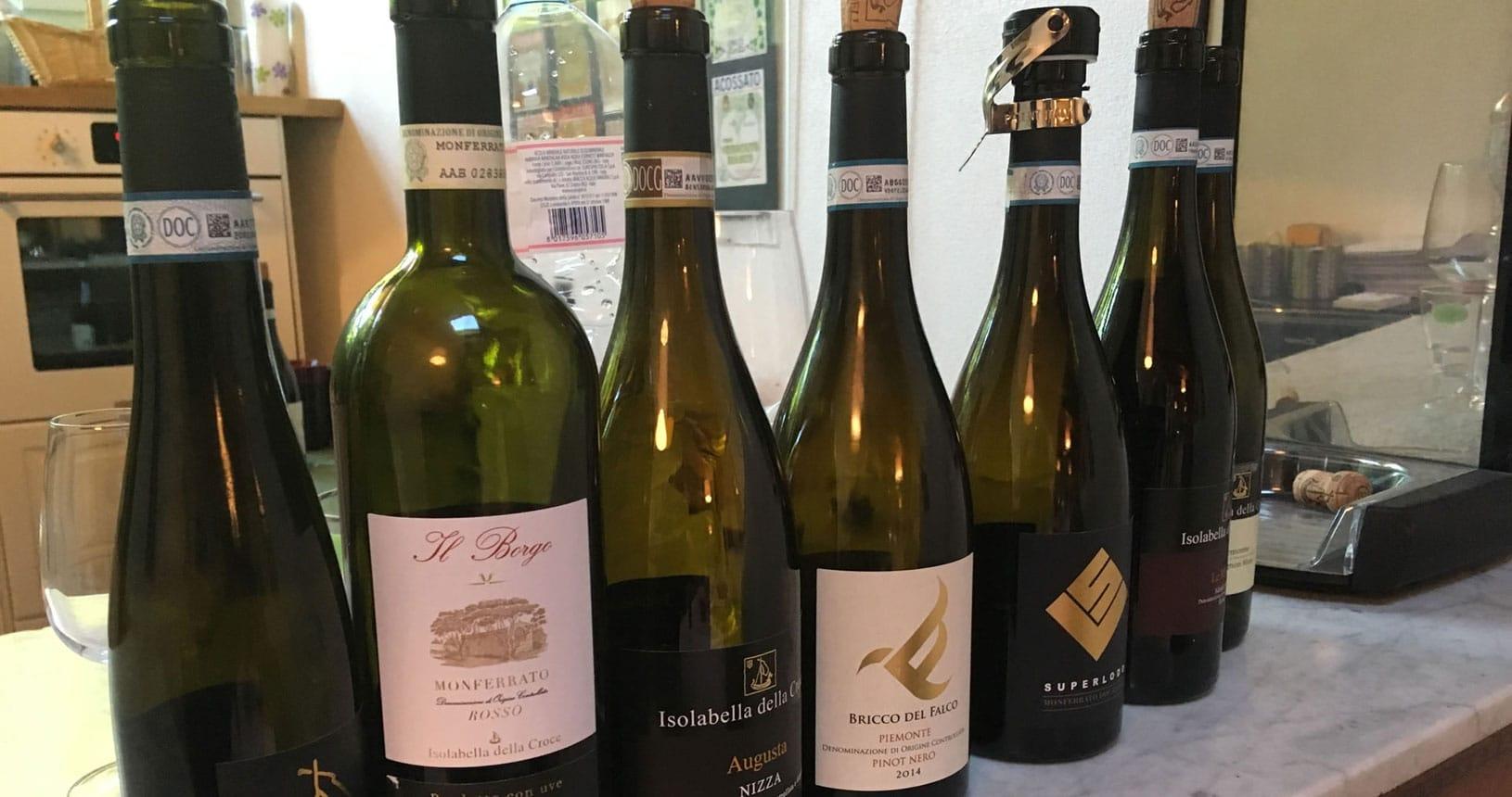 Piemont Urlaub Weine kennenlernen