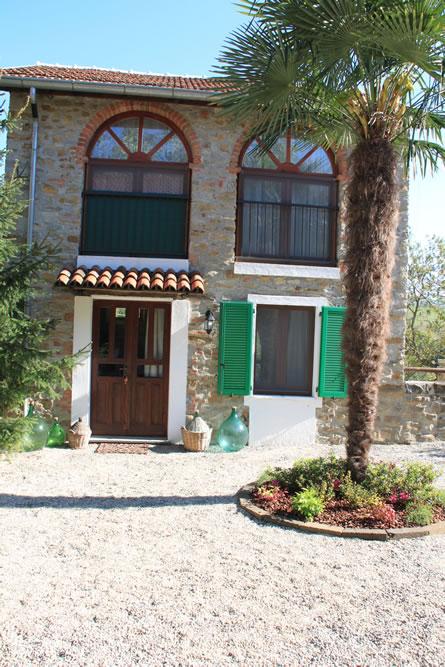 Ferienhaus Piemont Casa a Sud Aussenansicht